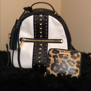 Juicy Couture backpack and wallet